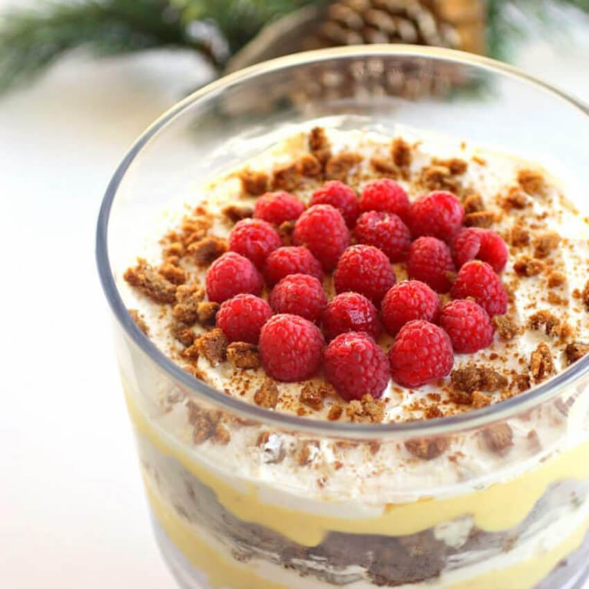 This trifle is the perfect addition to your holiday celebrations!