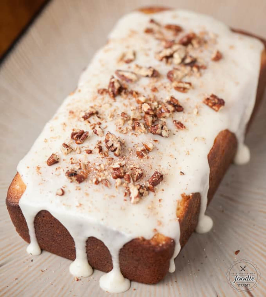You're going to love this eggnog pound cake!