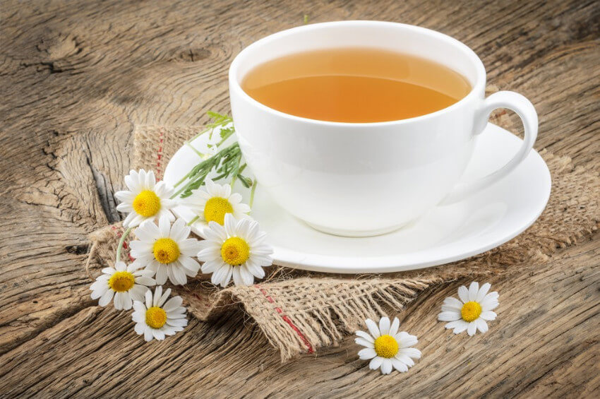 Chamomile tea can help detoxify your body!