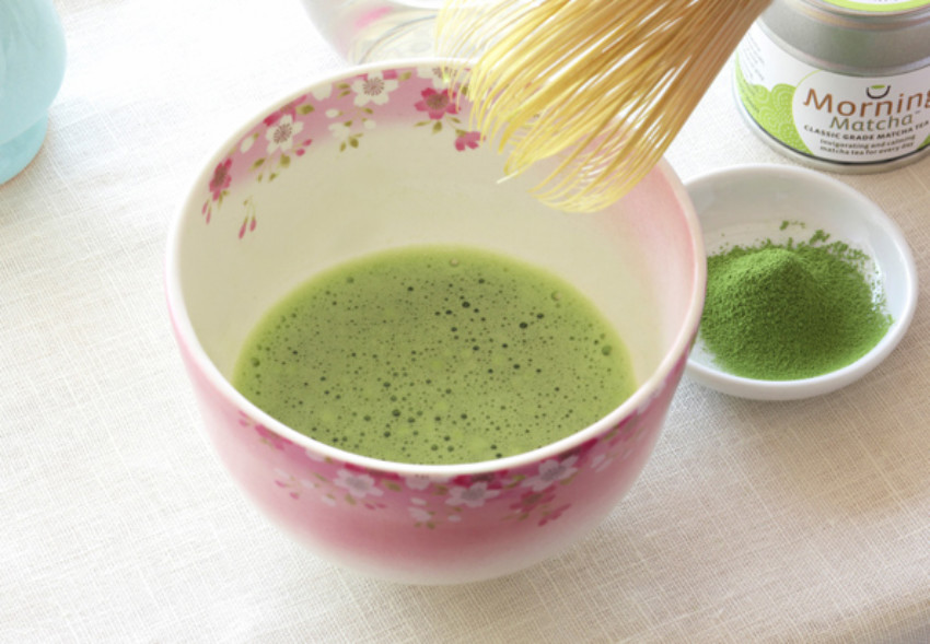 Matcha tea is a must during the season!