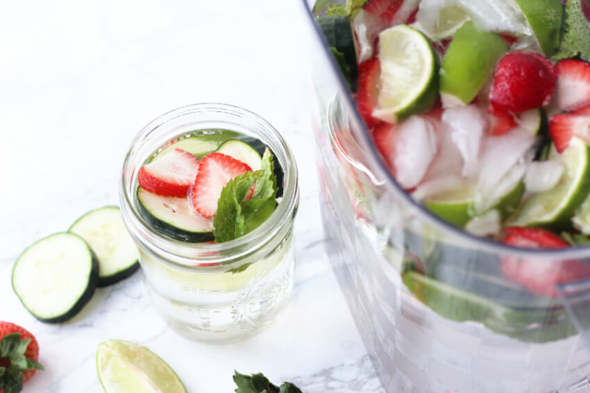 The guests will love this infused water!