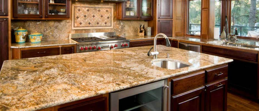Granite countertops are long lasting and require little maintenance!
