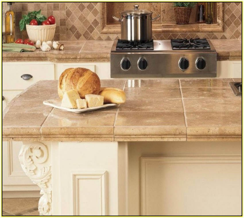 Tiles countertops are customizable, long-lasting, and inexpensive!