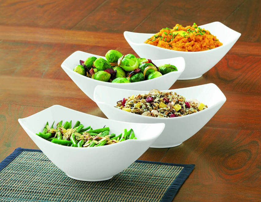 Either for dressings or simply salads, these bowls are great!