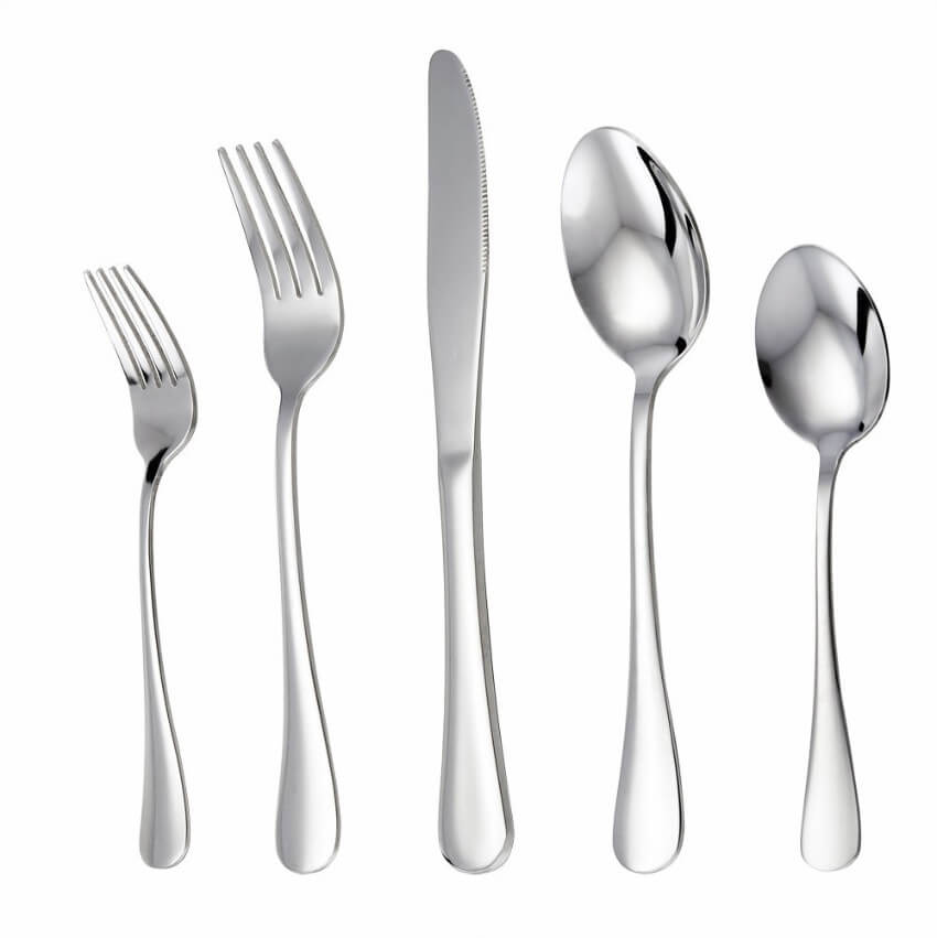 Flatware can be as simple as there and they're still awesome!