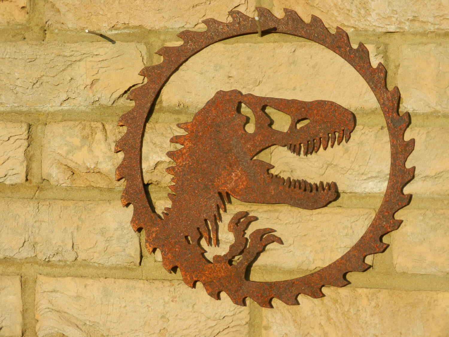 Dinosaur themed wall art! Just what every kid wants