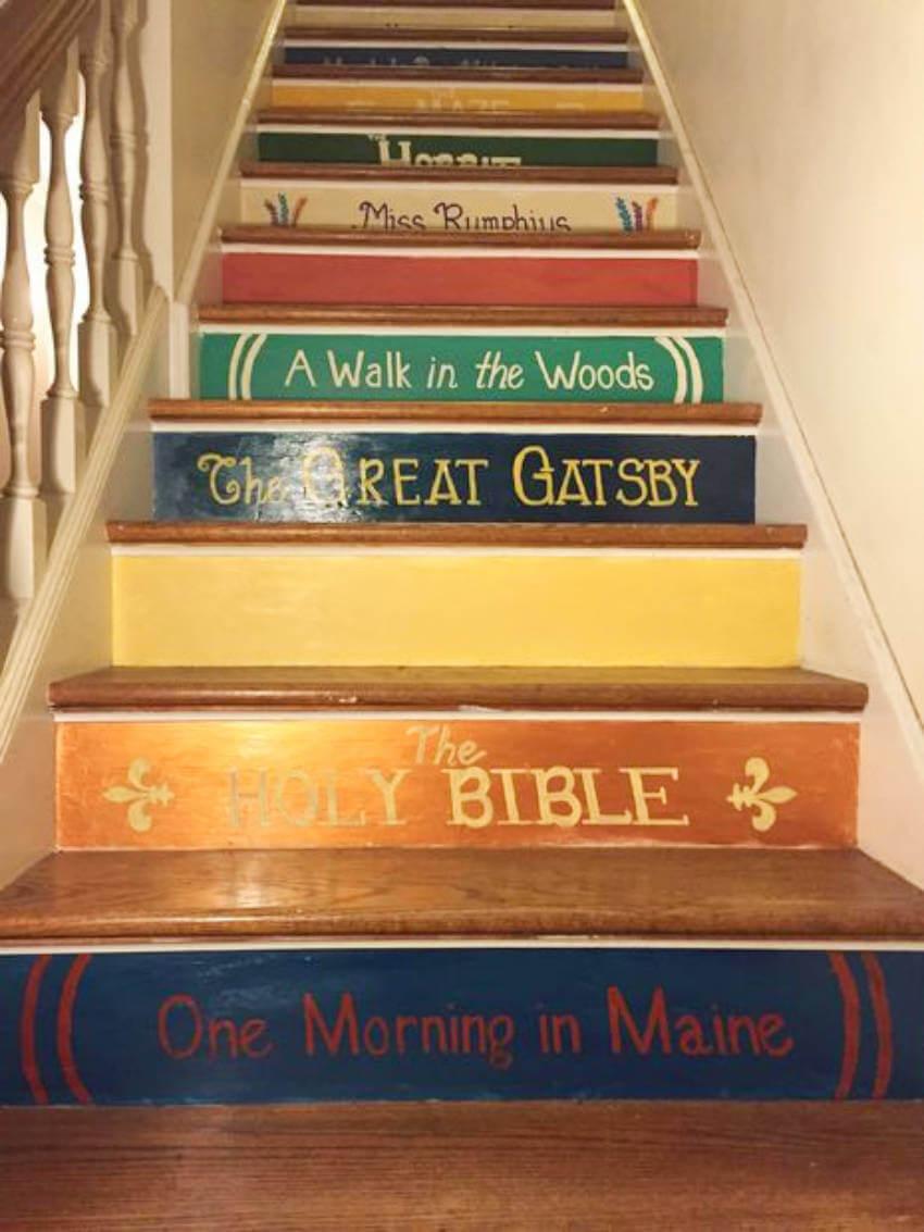 These 5 Diy Book Staircase Ideas Will Amaze You Homeyou
