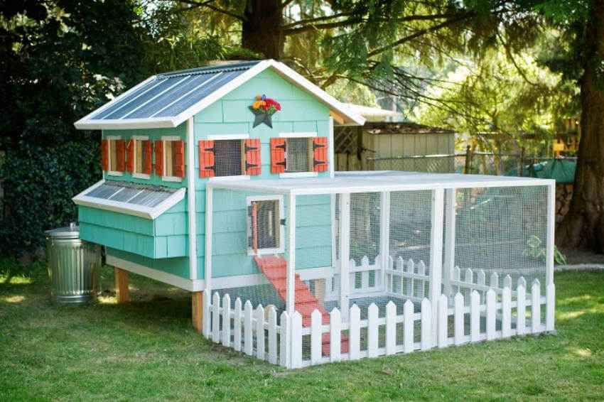 This is the ultimate chicken coop!