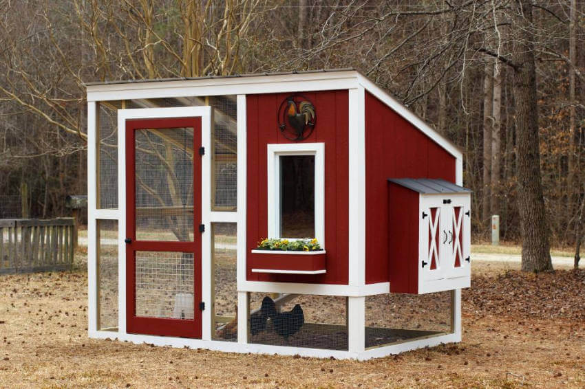 This fancy chicken coop is a dream come true.