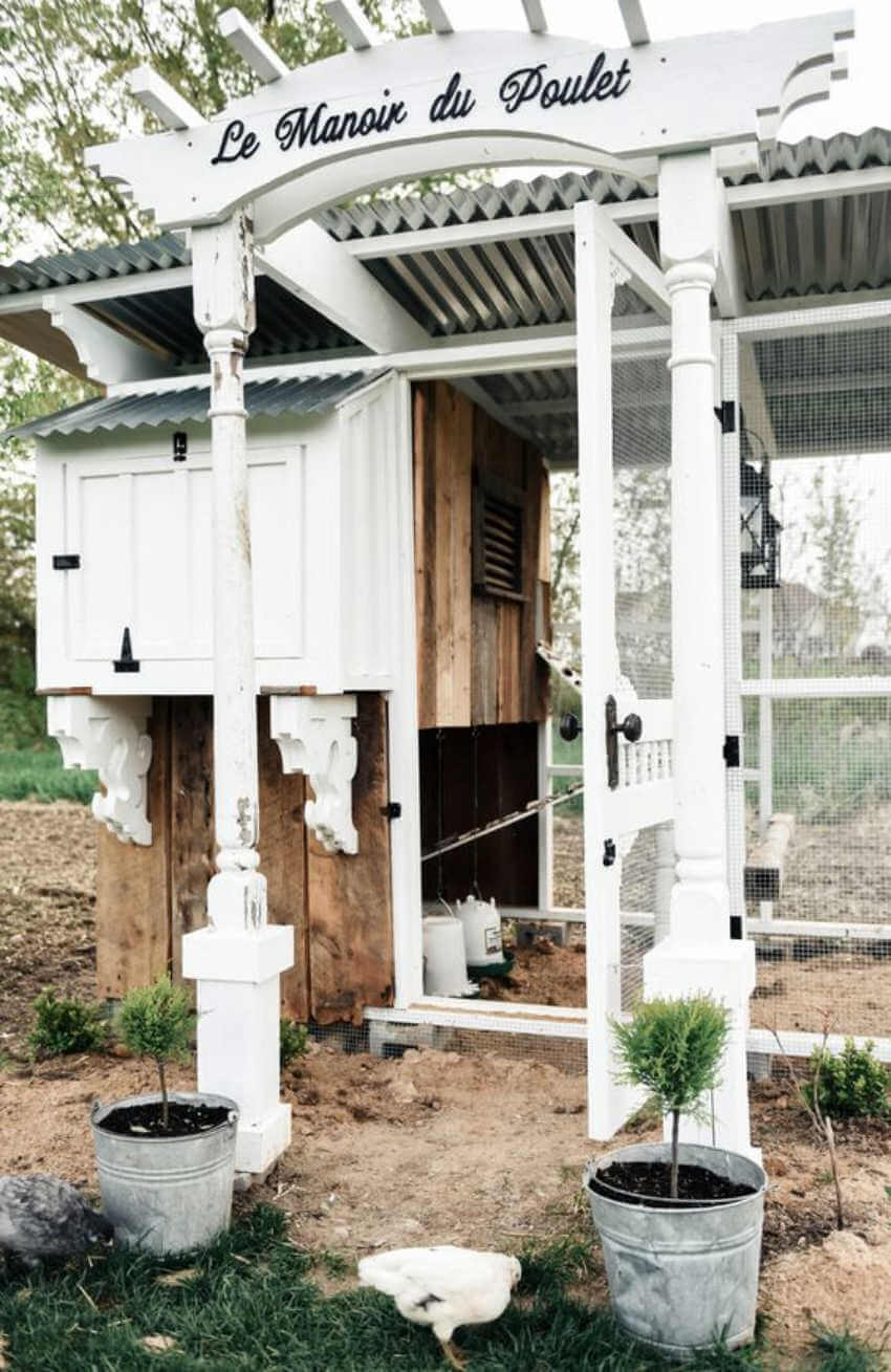 Make your chicken coop something to be proud of.
