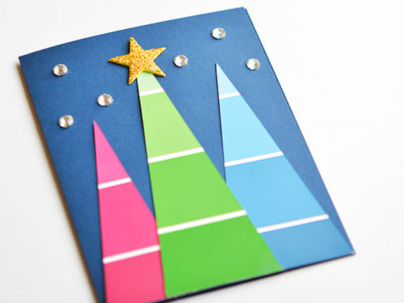 10 Beautiful Handmade Christmas Cards You Can Make