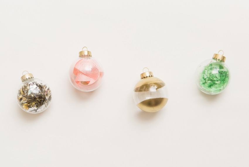 Adorable and easy to make, these ornaments are essential!