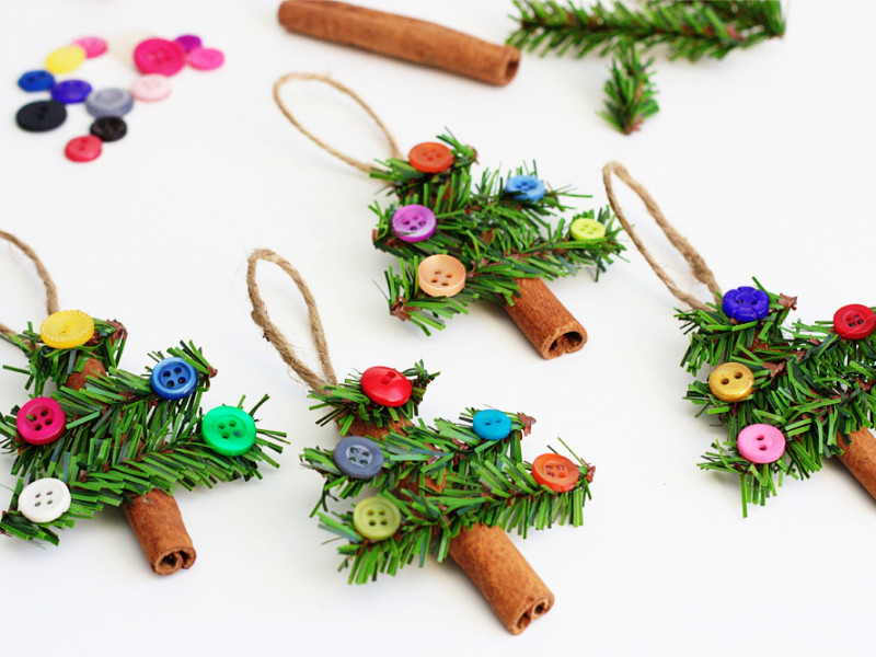 The Cutest Christmas Ornaments To DIY This Year