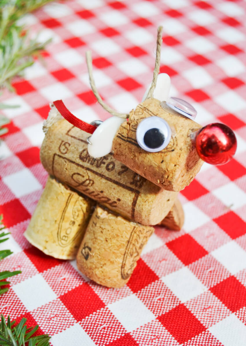 A miniature reindeer to make your home super adorable!