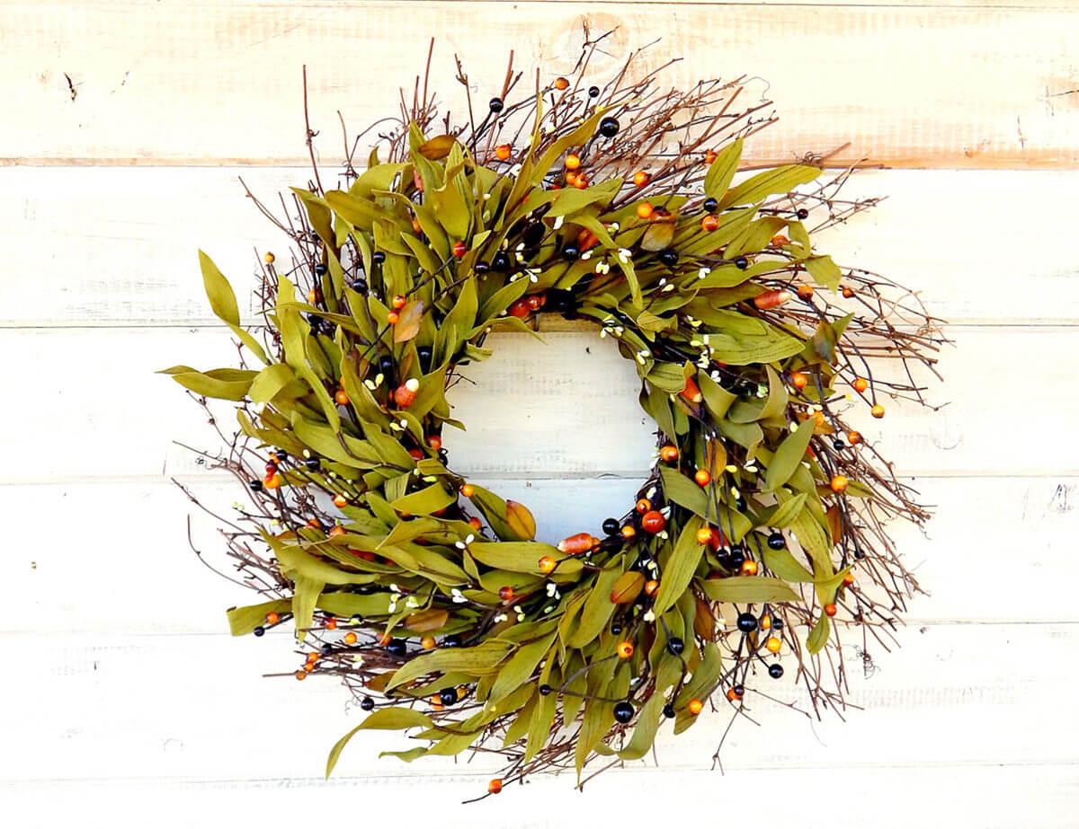 The wrath of the wreath