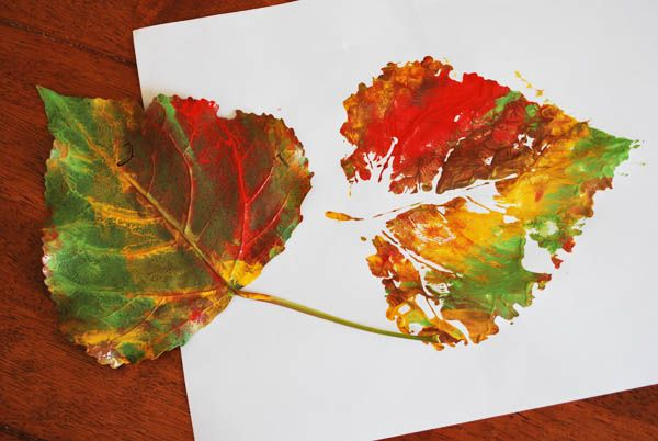DIY projects with leaves are always fun
