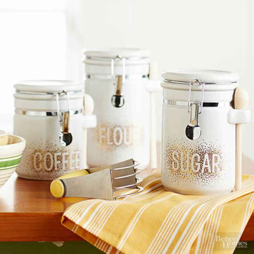 Anyone would love these awesome canisters!