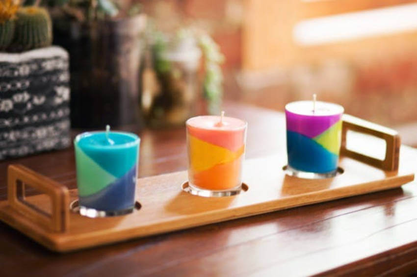 Cute and classy, these crayon candles have it all!