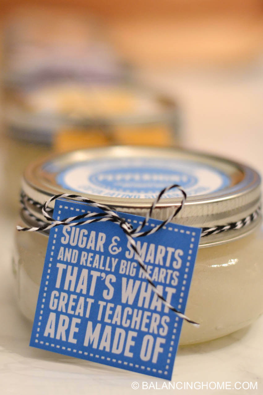 Sugar scrubs are easy to make and everyone loves them!