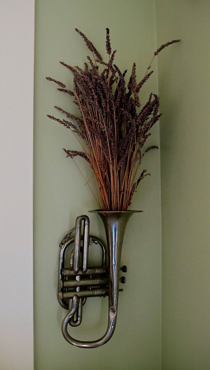 That old brass instrument can really freshen up the room