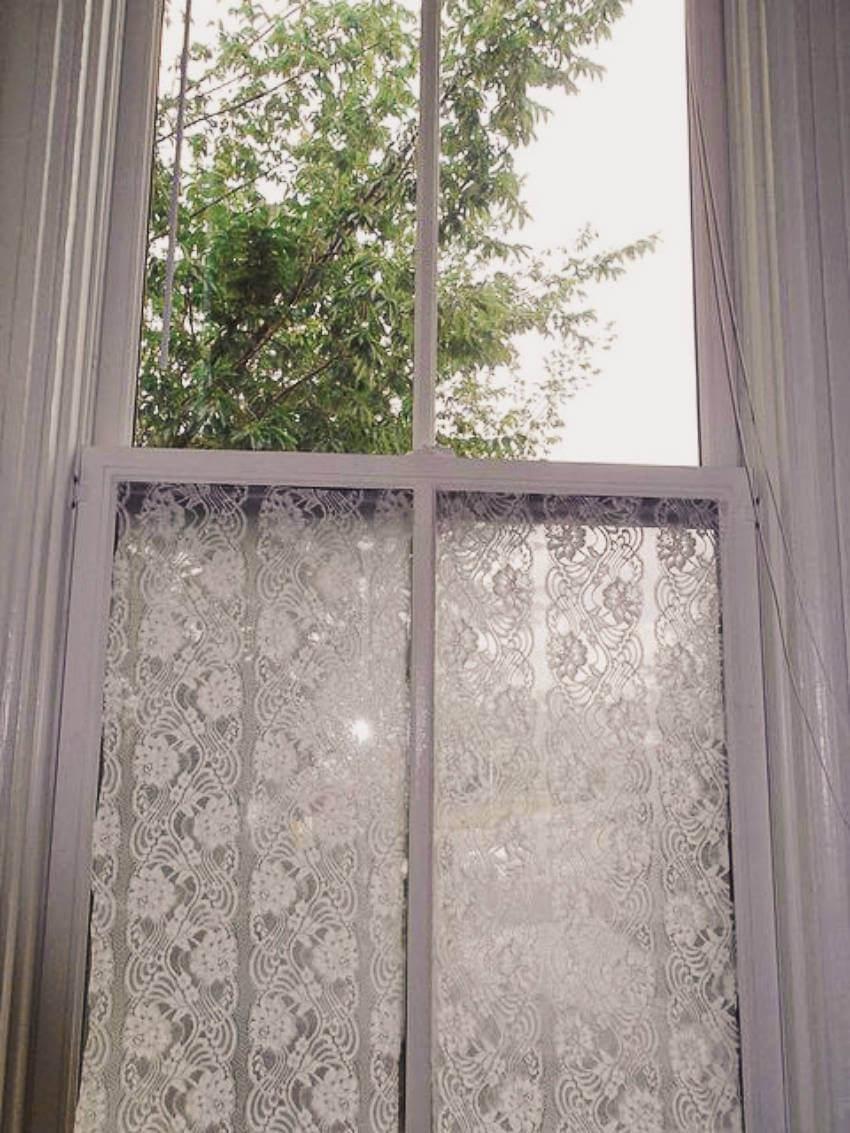 Privacy for big bathroom windows.
