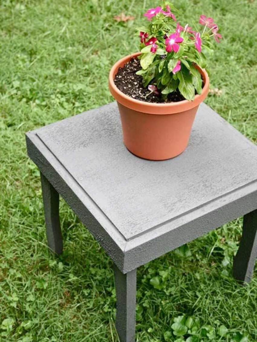 A weatherproof side table is just what you need!