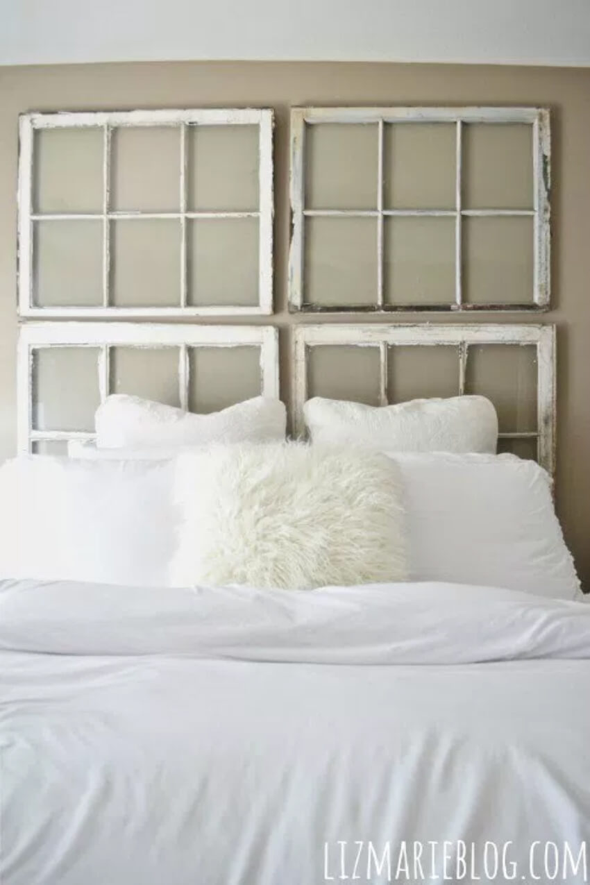 This headboard is perfect for minimalist decor!