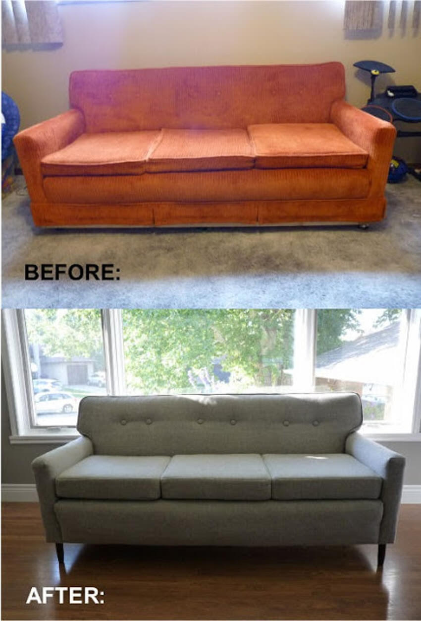 Make your sofa look brand-new again.
