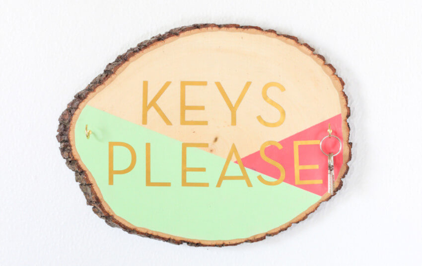 This key holder is beautiful and super useful!