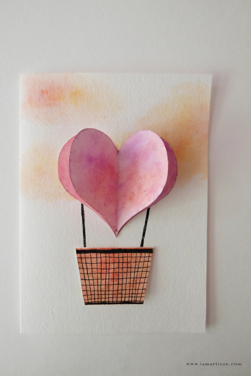 This lovely idea is perfect for Valentine's Day!
