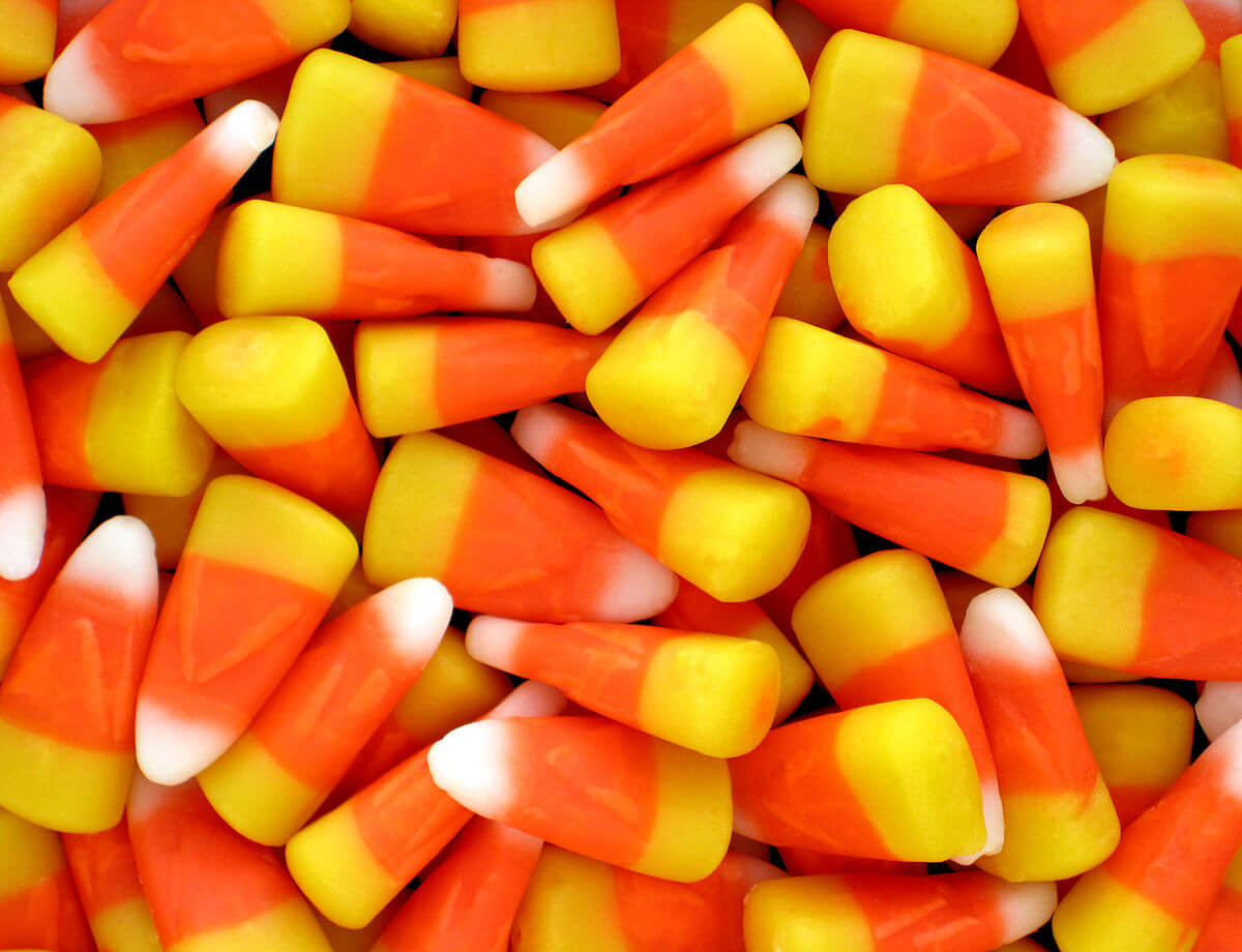 Candy corn might not go bad... ever...