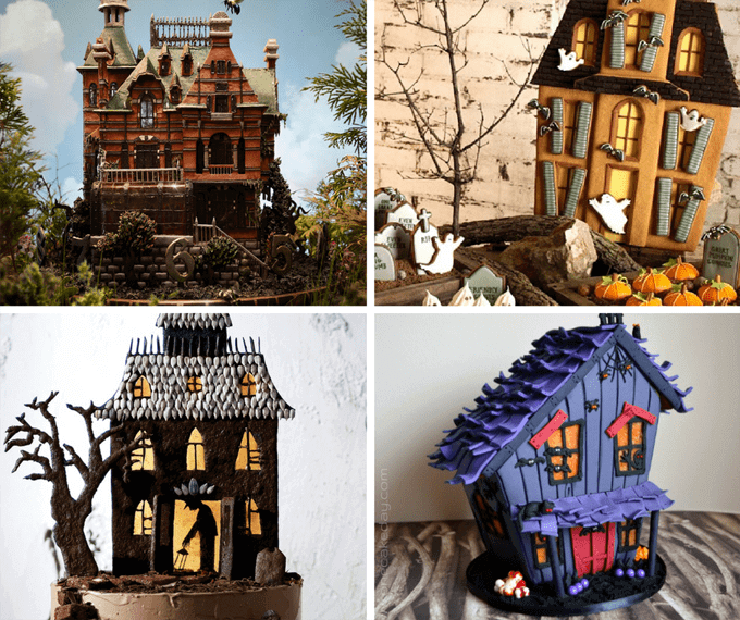 These candy houses are no gingerbread house