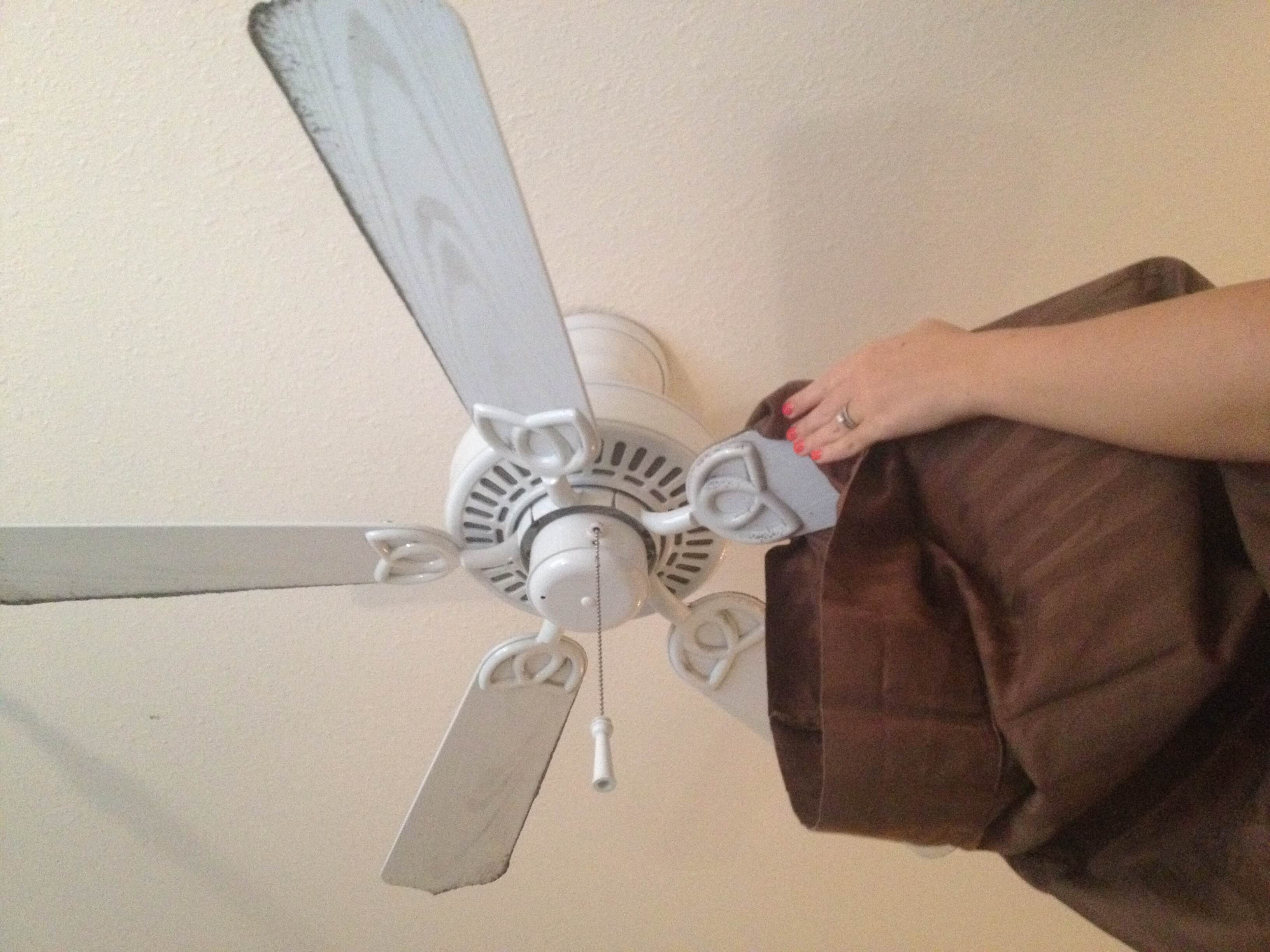 Remember to clean both sides of the fan