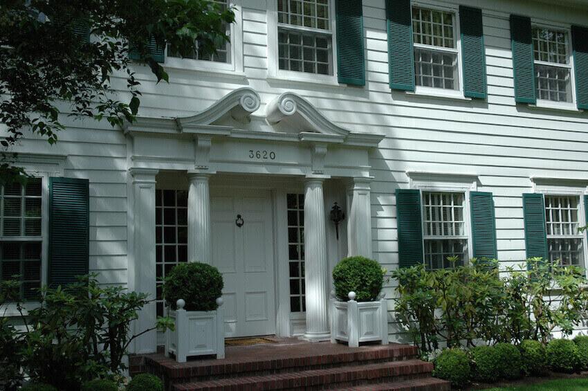 Exterior front door options