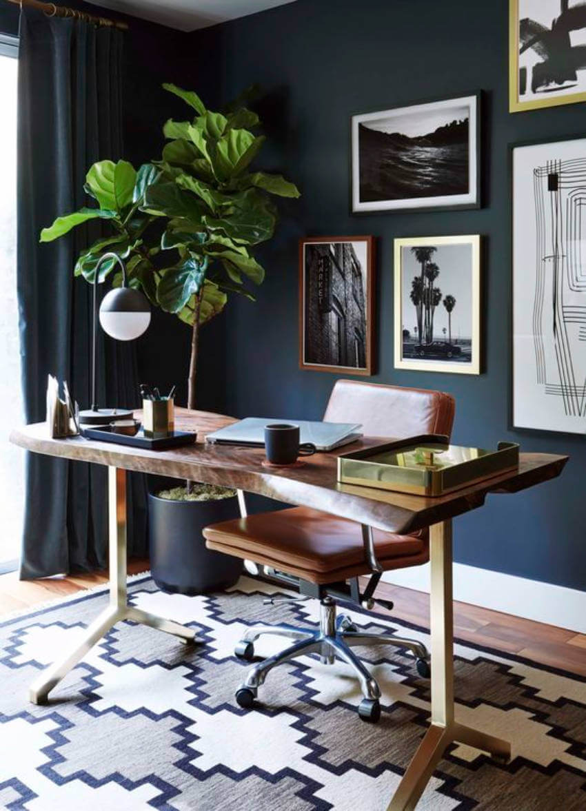Doesn't this home office look dreamy?