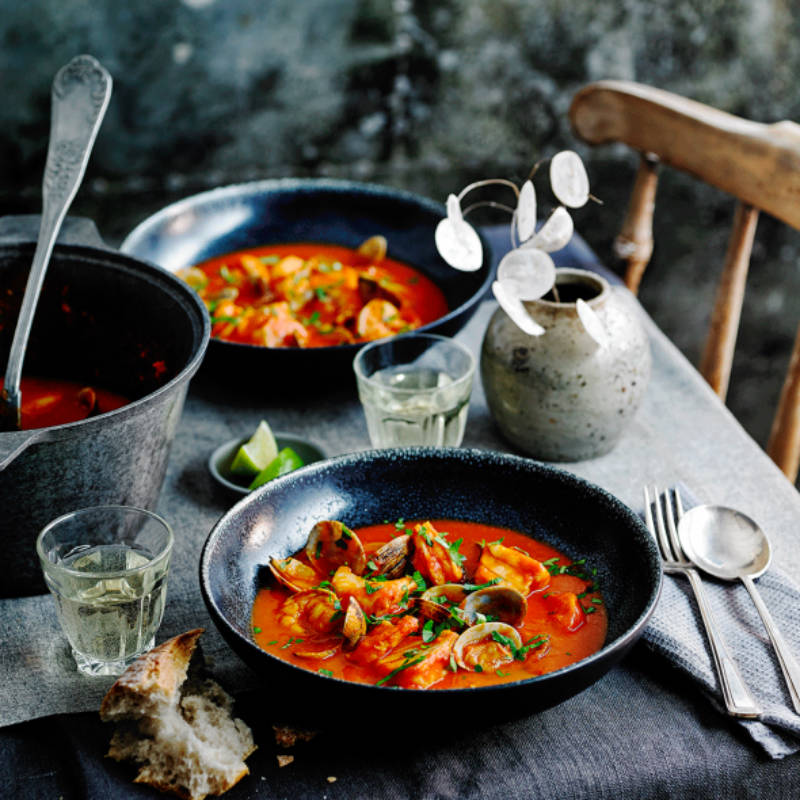 How about a portuguese fish stew to mix things up?