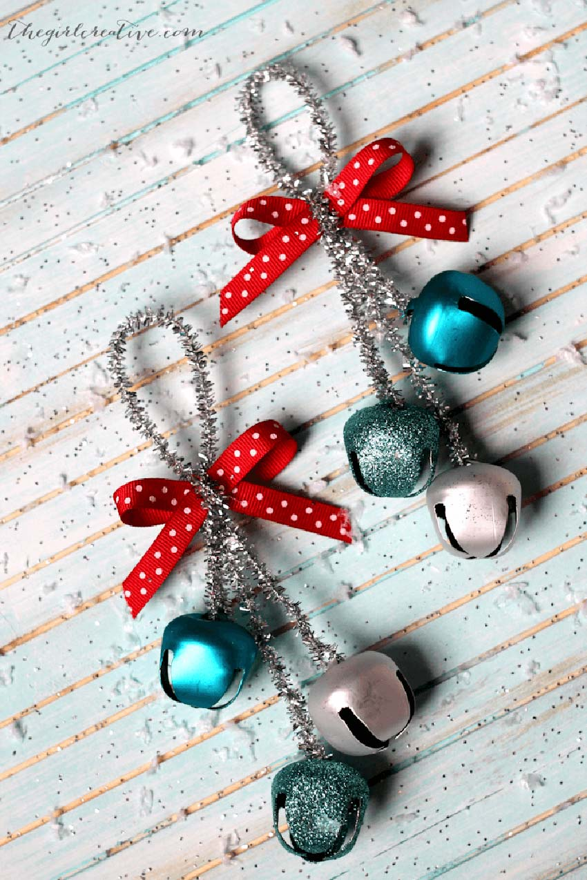 Jingle Bells - Easy DIY Christmas Ornaments