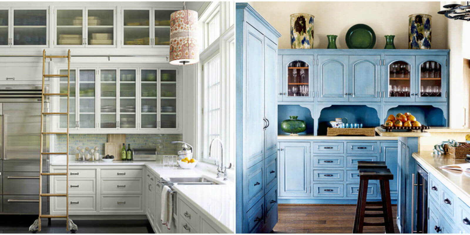 There are many different takes on kitchen cabinets, here's just a few