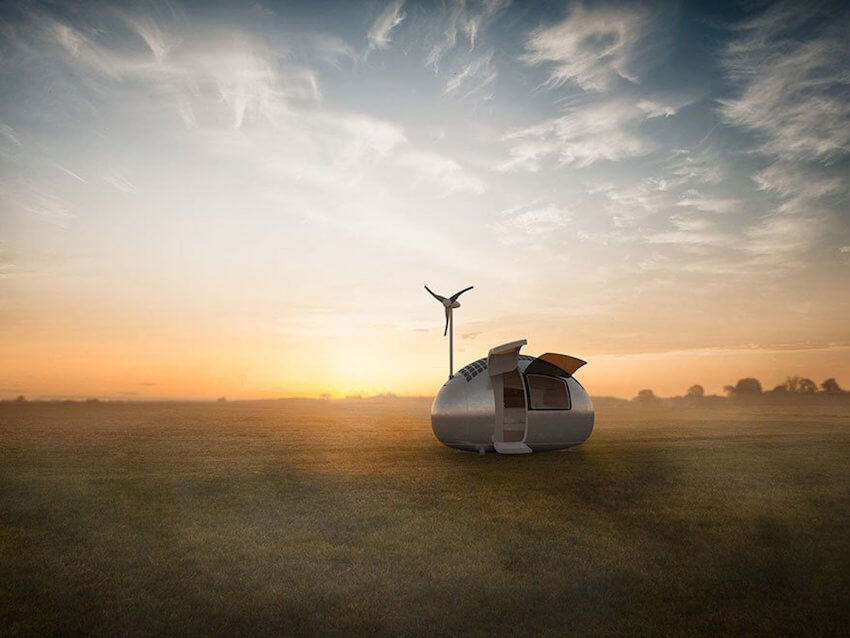 Ecocapsule lets you live off the grid anywhere in the world