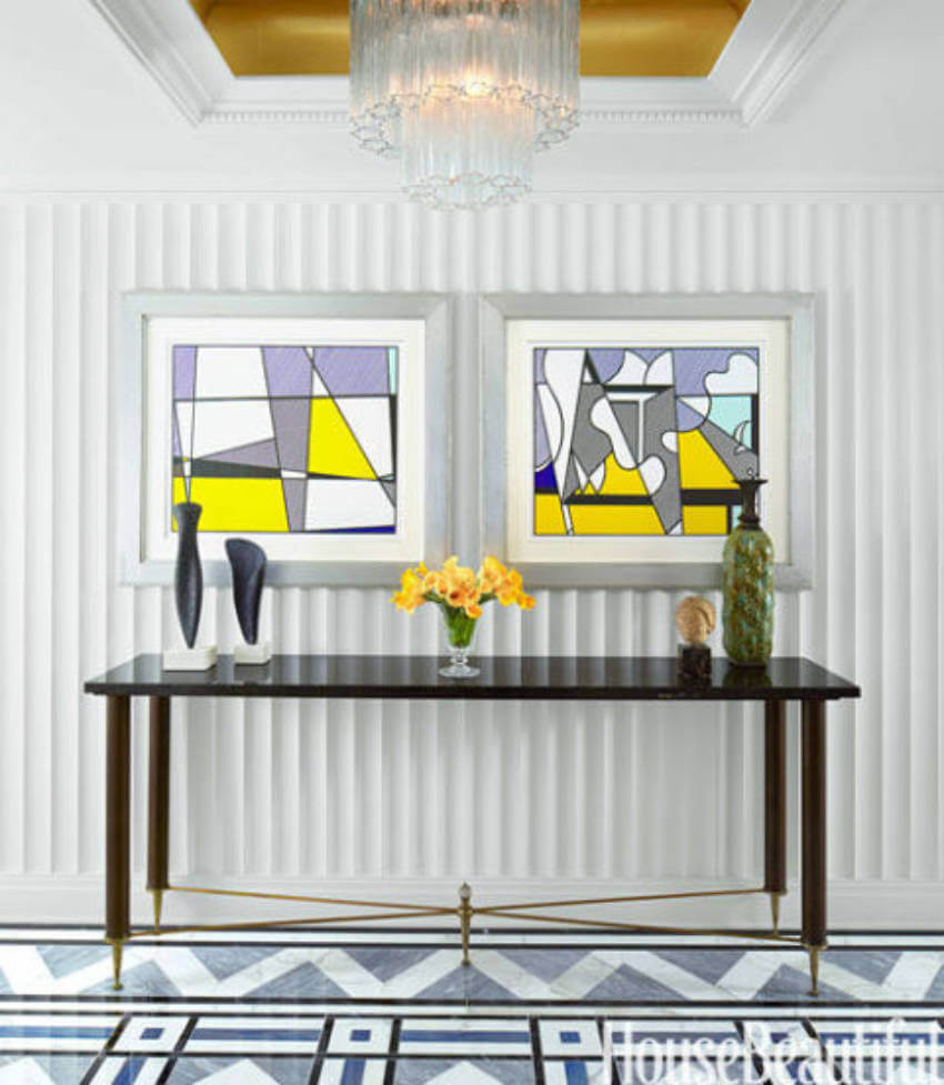 A minimalist look can give you the entryway you desire.