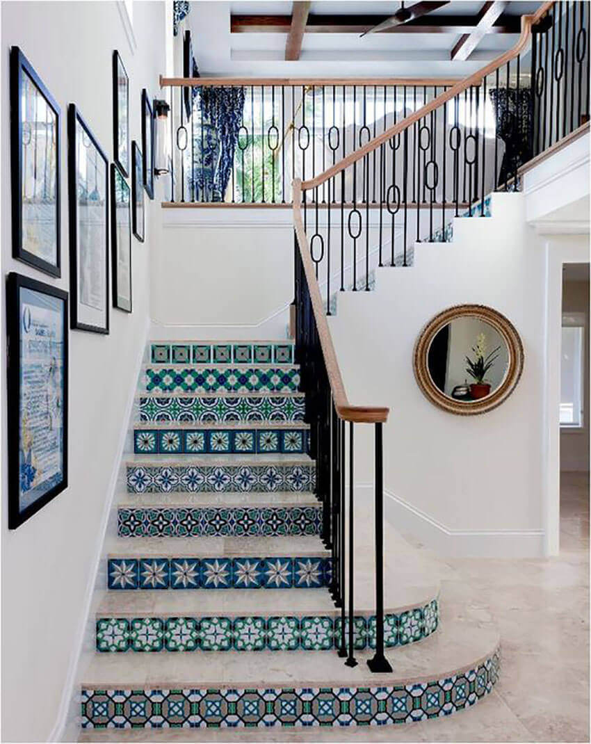 A good tilework project will give your entryway a unique look!