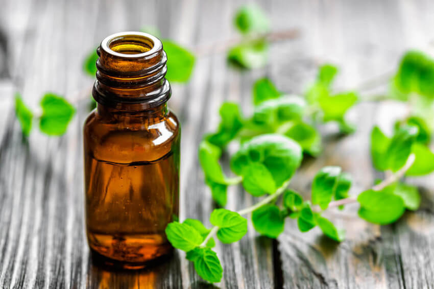By reducing swelling and pain, peppermint oil will help you feel a lot better!