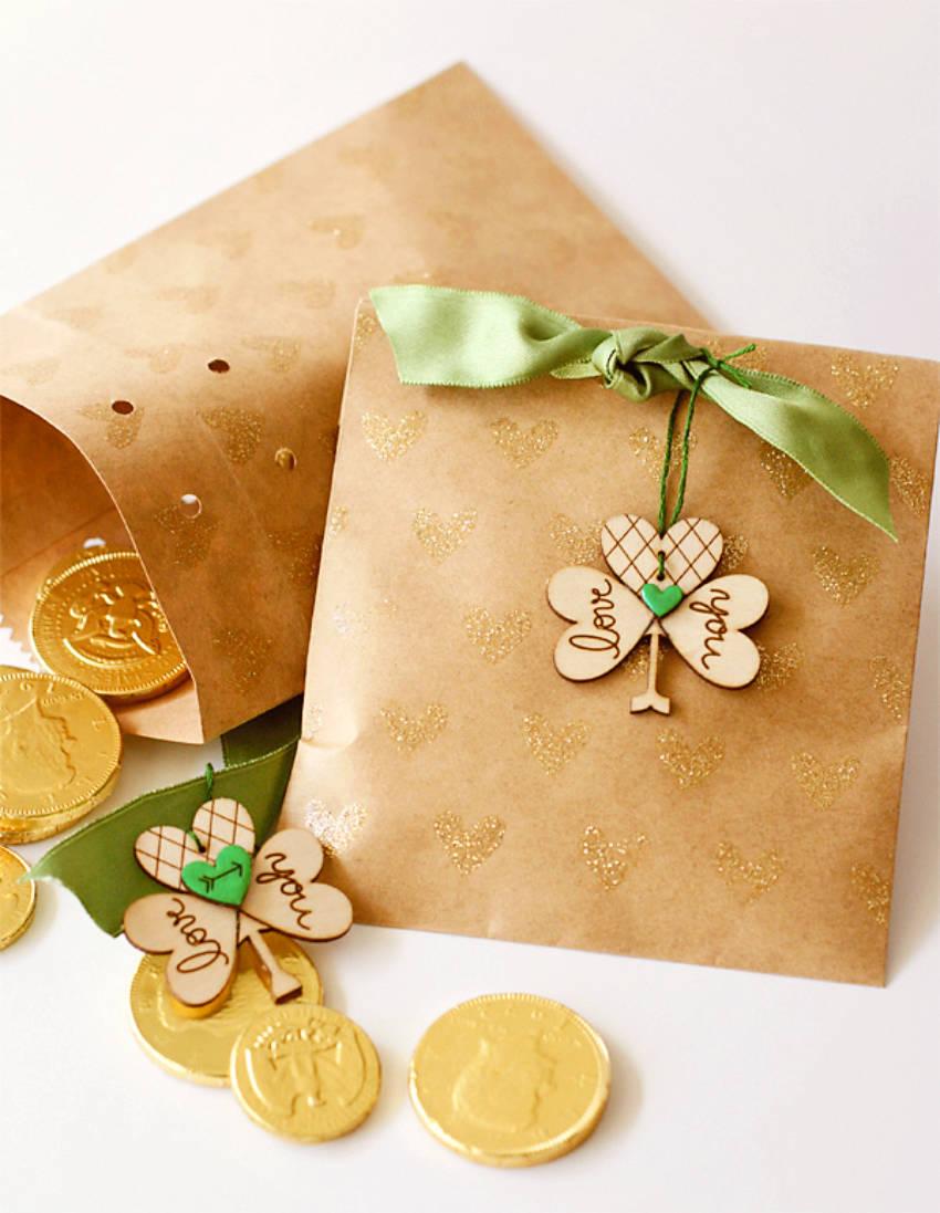 Treasure hunt for Saint Patrick's Day!