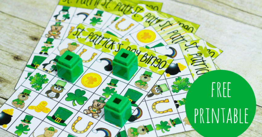 Saint Patrick's Day Games Bingo