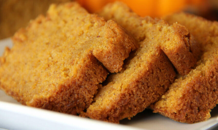 Pumpkin bread is the perfect fall gift.