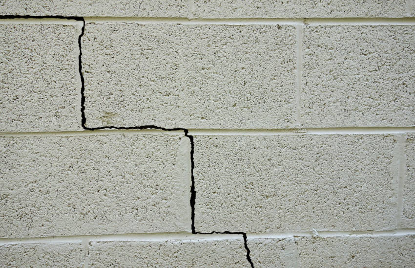 Cracks on your foundation or driveway can lead to severe damage if not taken care of.