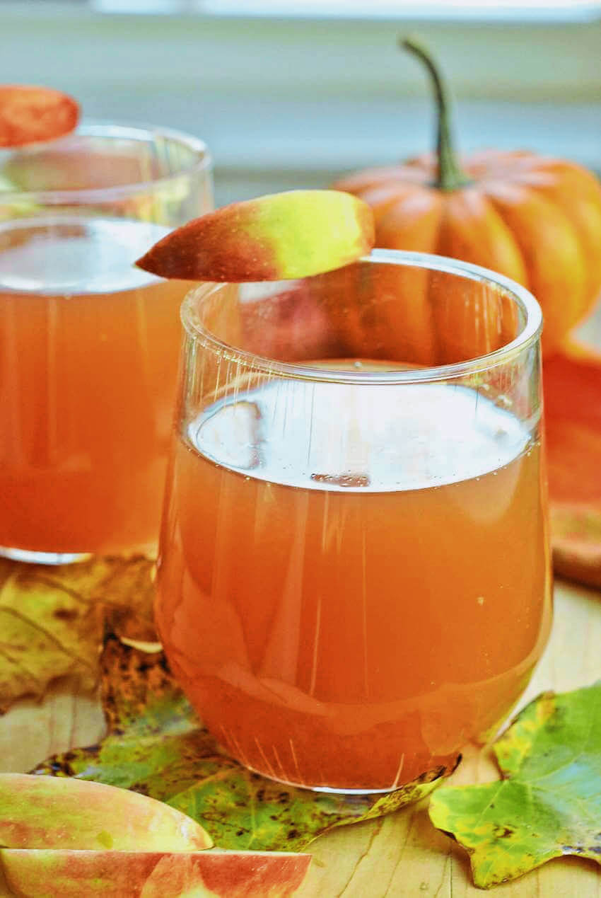 This crock-pot apple cider is delicious and fills your home with a wonderful smell!
