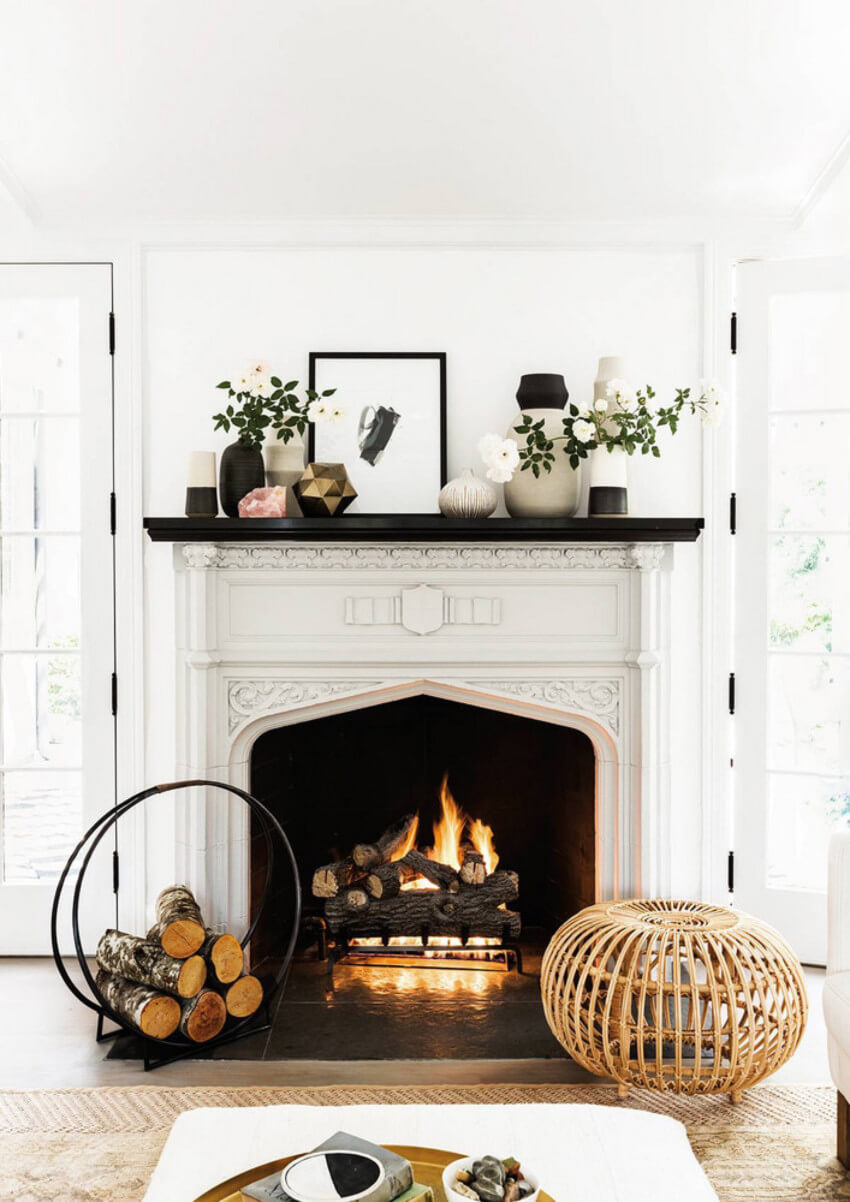 Having a pretty and risk-free fireplace is what we want.