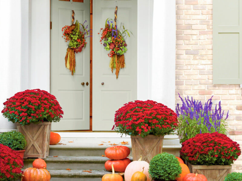 Get Inspired to Decorate with These 6 Fall Porches