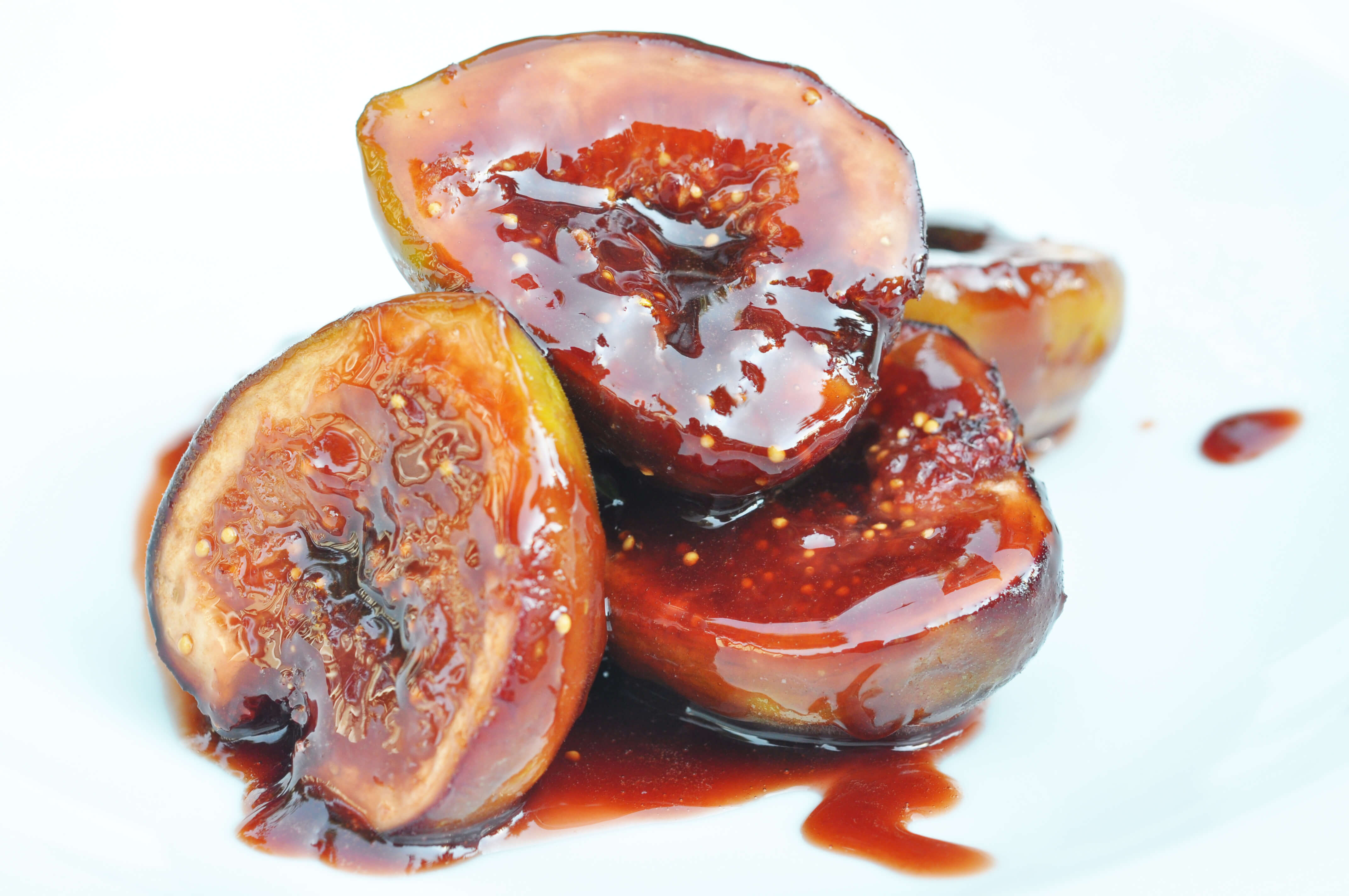 Delectable fig goodness drizzled with deliciousness